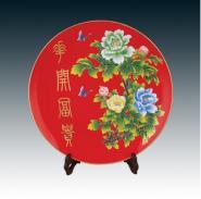 中国红十寸圆盘图片