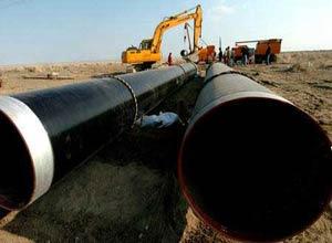 环氧煤沥青油复合钢管图片