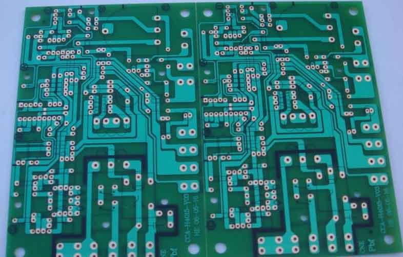 供应单面纸板-94HB单面线路板-单面电镍绑定电路板-94HB单面板图片