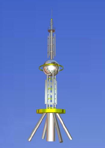 装饰塔_装饰塔供货商_供应楼顶装饰塔