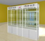 深圳展柜精品货架展示柜定做样品展图片
