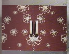 不锈钢紫色镜面蚀刻花纹板图片/不锈钢紫色镜面蚀刻花纹板样板图