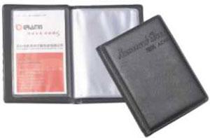 供应名片册,定做名片册,制作名片册,608格名片册,PP名片册批发