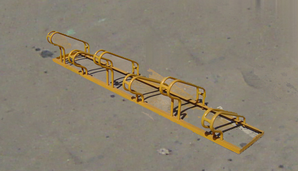 供应高低自行车架自行车架圆形自行高低自行车架自行车架圆形自行车架