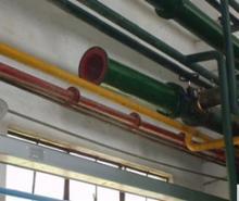 供应复合衬胶管、钢管衬胶、衬胶管道