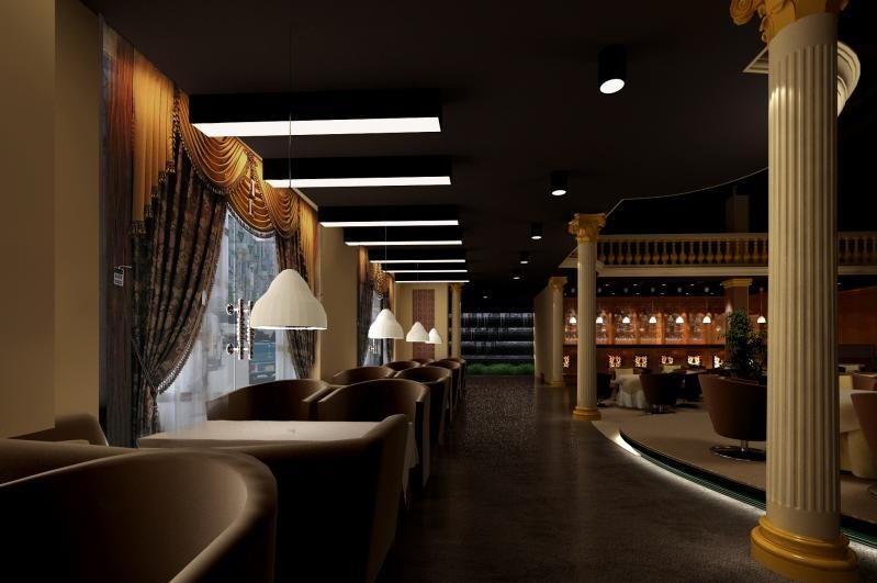 餐厅装修餐厅设计北京餐厅装修图片