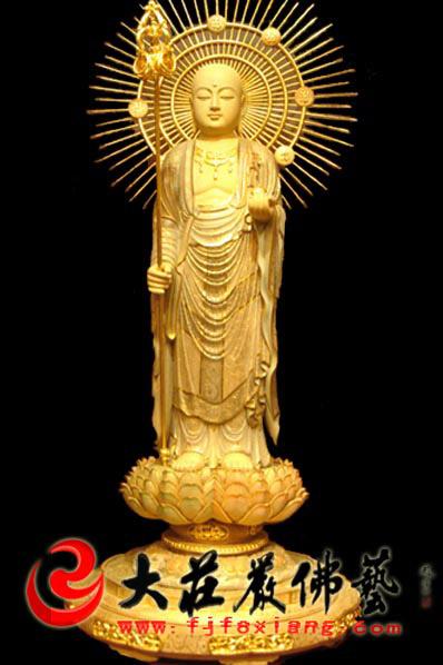供应木雕地藏王菩萨图片