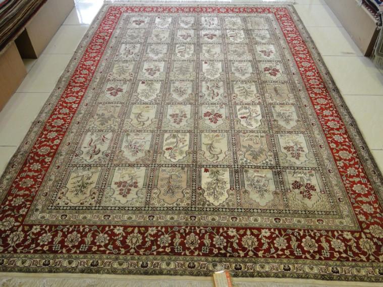供应波斯地毯-花园图案