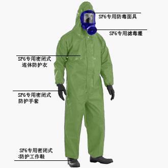供应SF6专用防酸防化连体服