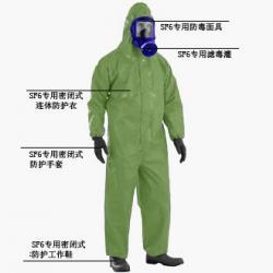 SF6专用防酸防化连体服图片