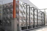 长兴水箱制作安装消防水箱图片