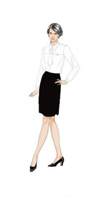 厦门职业女装图片/厦门职业女装样板图 (1)