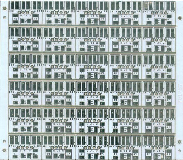 供应双面线路板-双面喷锡电路板厂-LED双面板-双面白油线路板