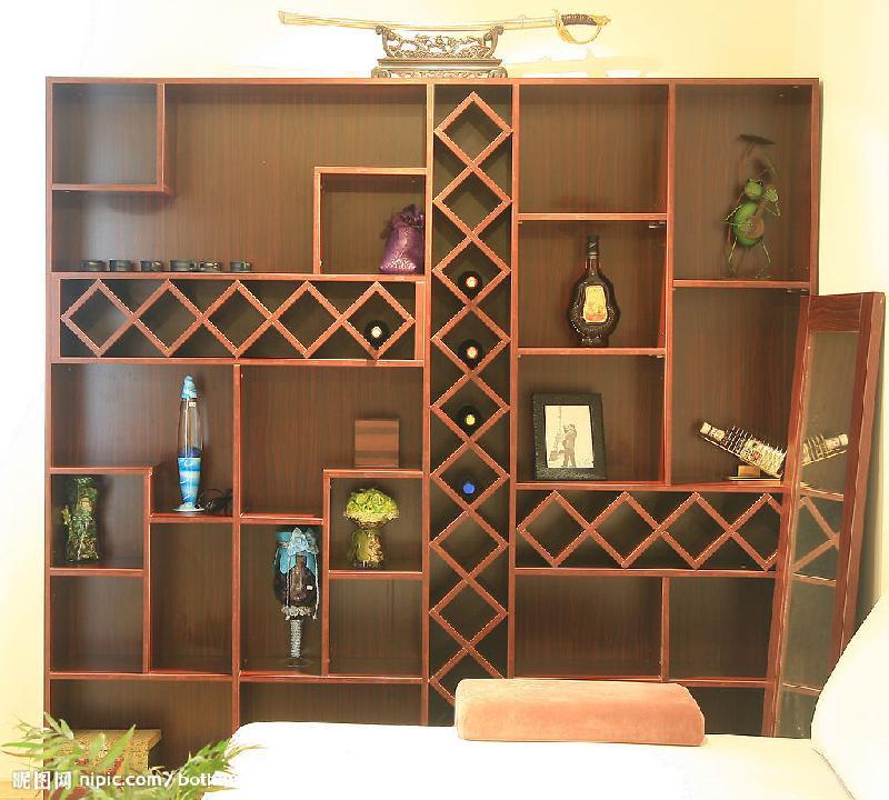 家庭酒柜设计图简约