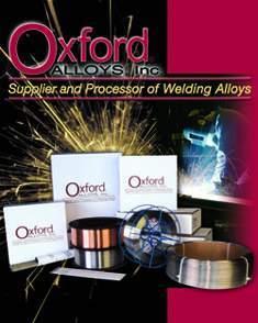 供应美国牛津Oxford 特殊焊接材料 ER63图片
