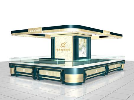 珠宝展柜设计制作-珠宝展厅设计