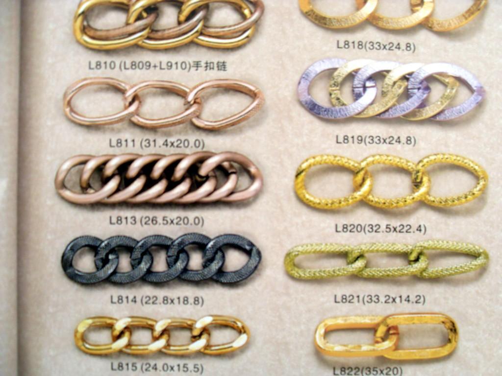 供应磨链铁链条铝链条铜链条狗链万字链 狗链 图片|效果图
