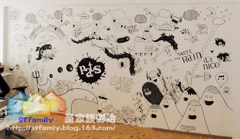 成都墙面壁画墙面彩绘手绘墙图片|成都墙面壁画墙面