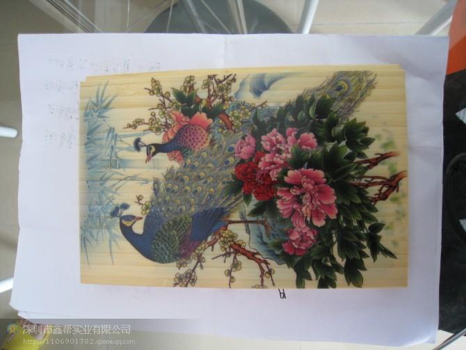 喷绘机图片 喷绘机样板图 木板喷绘机 深圳市鑫中科彩色印
