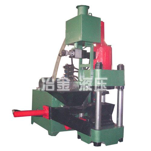 供应SBJ-2500E金属液压屑饼机,铝屑压块机,废铜料压块机