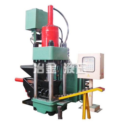 供应SBJ-3150B金属液压屑饼机,生铁屑压块