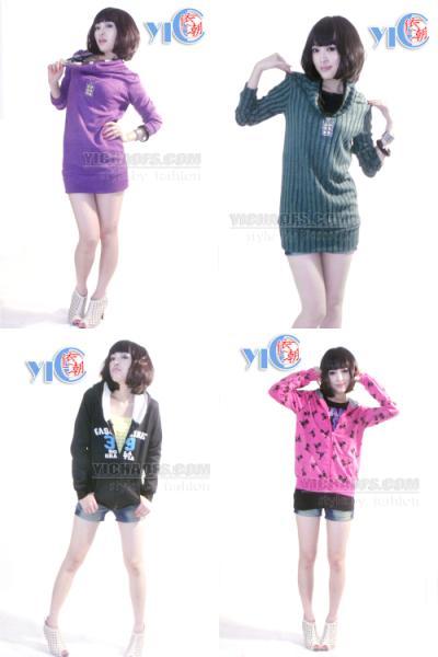 韩版女装厂家直销时尚毛衣批发图片/韩版女装厂家直销时尚毛衣批发样板图