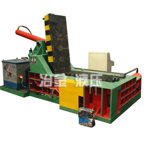 供应YD-1600A金属液压打包机,油桶压块,钢屑压块,铁盒团球