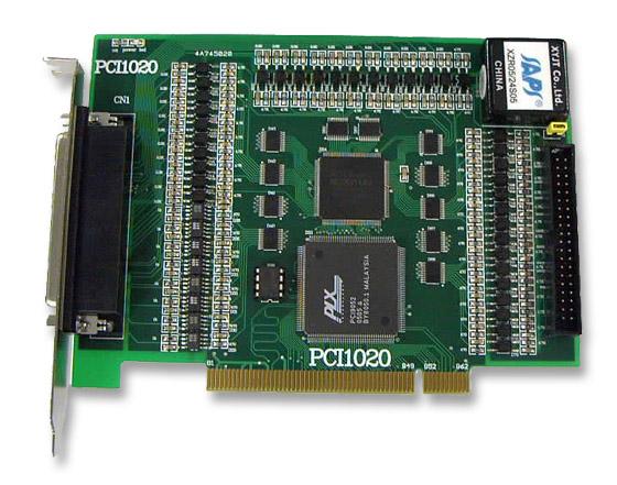 供应独立4轴运动控制卡PCI总线图片