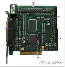 供应阿尔泰8轴运动控制卡PCI总线卡图片
