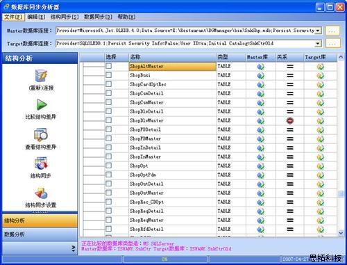 汉思数据库同步分析器图片|汉思数据库同步分析器