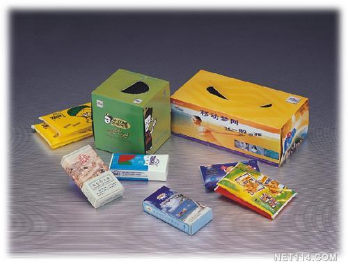 供应广告湿巾广告盒抽广告餐巾