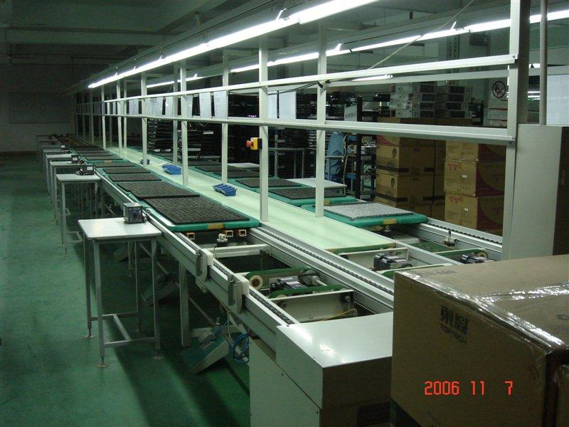 供应显示器生产线