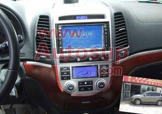 卡仕达现代新胜达DVD导航新D106平台CA3660G-GPS+