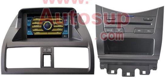 卡仕达07雅阁专车DVD导航新D106平台CA3685G-07雅