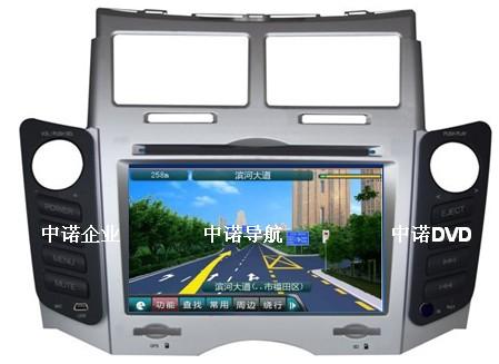 供应丰田雅力士原厂原装dvd导航仪图片