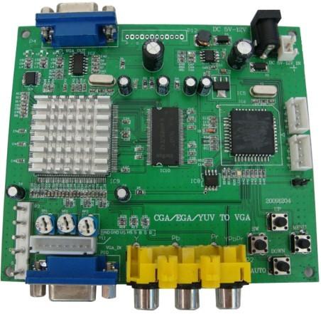 艾德瑞RGBS转VGA转换板