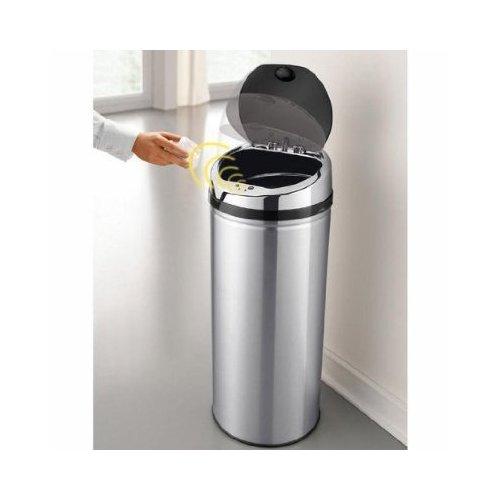 供应自动智能感应不锈钢垃圾桶