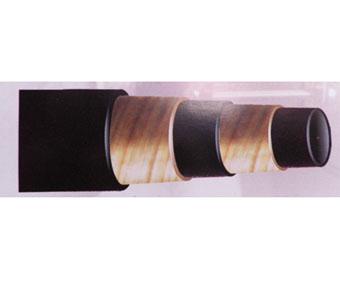 供应51mm双层钢丝缠绕高压橡胶管