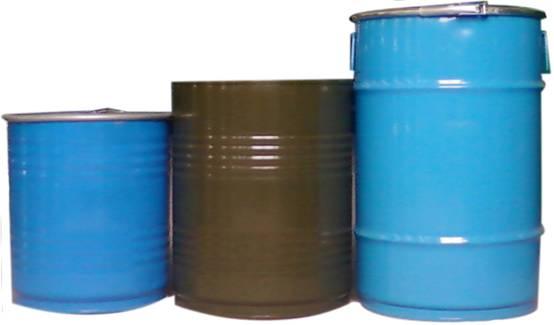 15l—210l开口闭口各类型钢桶15l-200l开口钢桶图片