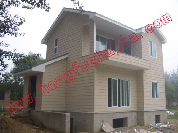 轻钢龙骨房屋建造报价  轻钢龙骨房屋建造产品描述:     钢结构住宅延
