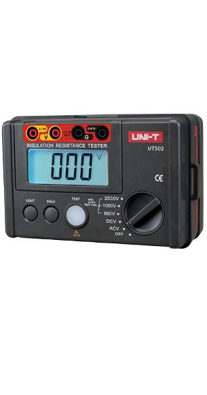 优利德绝缘电阻测试仪UT502图片/优利德绝缘电阻测试仪UT502样板图