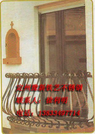 阳台不锈钢护栏图片欧式