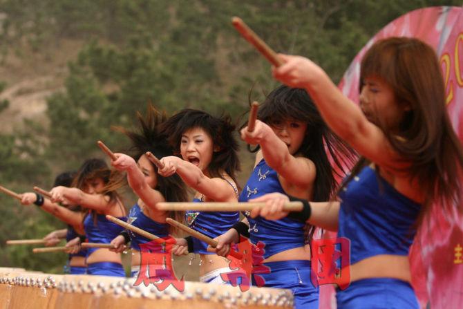 广州女子鼓乐图片/广州女子鼓乐样板图
