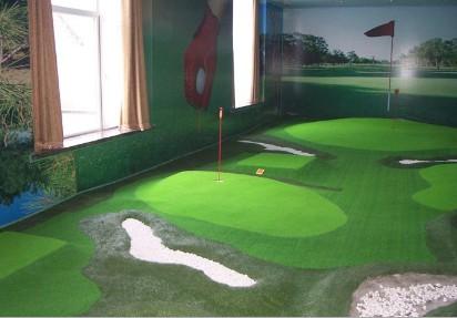 室内迷你高尔夫球场图片