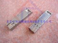 压铸锌合金插头SFP电子连接图片