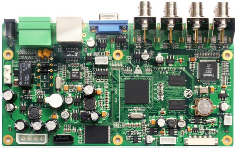 8路h264硬盘录像机主板图片大全