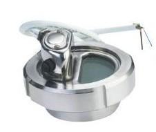 供应活接带灯视镜,卫生级带灯视镜,不锈钢带灯视镜,罐顶视镜灯图片