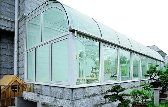 供应别墅玻璃阳光房图片