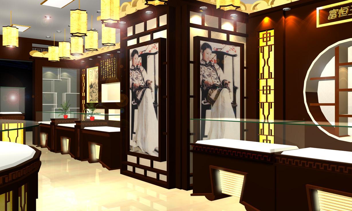供应上海玉器展示柜设计和制作上海玉器展柜