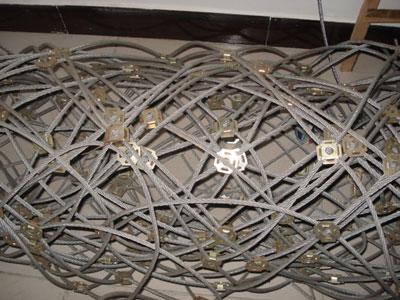 边坡柔性防护网系统图片/边坡柔性防护网系统样板图